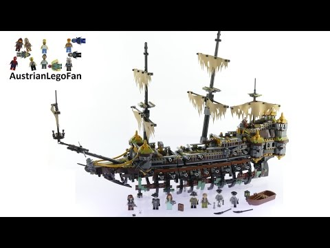 Lego Pirates of the Caribbean 71042 Silent Mary - Lego Speed Build Review