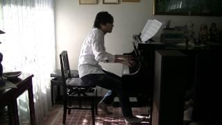 なんでもないや(movie ver.)上白石萌音カバー ピアノ 君の名は。より RADWIMPS, Your Name, Nandemo Naiya, Piano