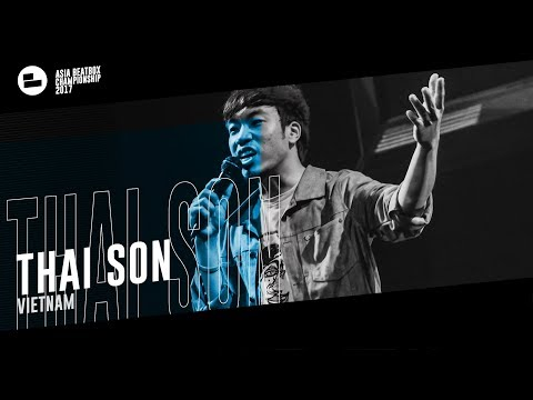 Thai Son(VN)|Asia Beatbox Championship 2017 Loopstation Elimination