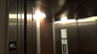 Schindler 3300 Elevator (Hotel Car) at Eastwood Towne Center Parking Garage, Lansing, MI