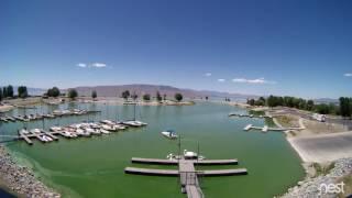 Time Lapse of Algae Bloom at Utah Lake