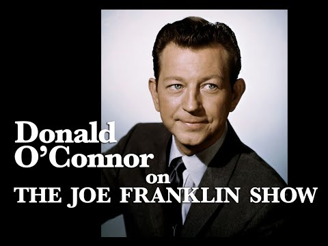 The Joe Franklin Show - Guest Donald O'Connor