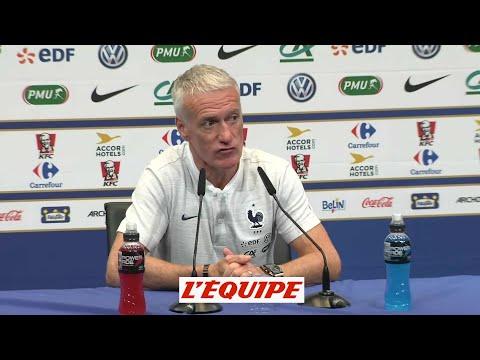 Rien de grave pour Dembélé, confirme Deschamps - Foot - Bleus