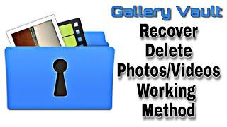 Gallery Vault Delete Photos/Videos Recover|How To Recover Delete Files on Gallery Vault|Recover Data screenshot 5