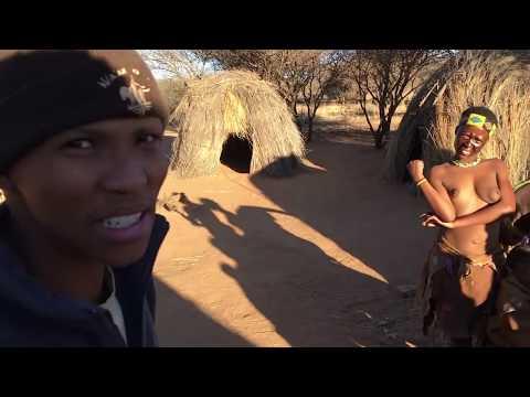 Learning bush skills from the San Bushmen of the Kalahari