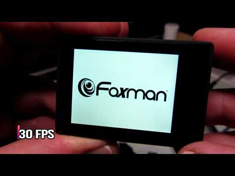 UNBOXING Foxman Action Cam FX 5000