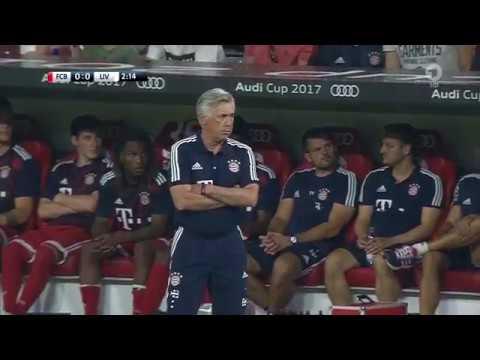Bayern München gegen FC Liverpool   die erste Halbzeit   Audi Cup 2017
