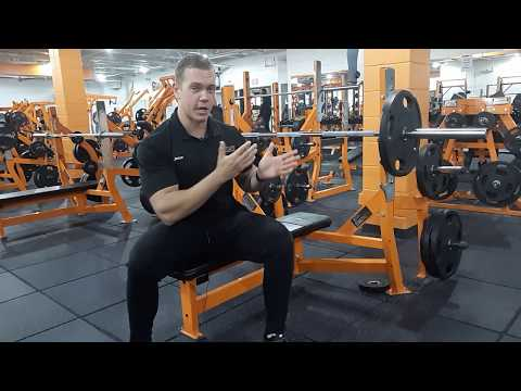 Tutorial : How To Do a Proper Bench Press (Giant Fitness) thumbnail