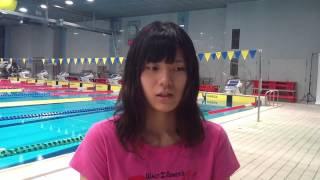 世界水泳バルセロナ代表選手:内田美希(東洋大学)