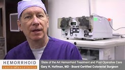 Hemorrhoidectomy Recovery | Post-Operative Pain Control for Hemorrhoid Surgery