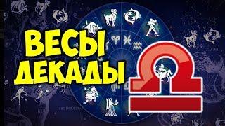 видео Гороскоп по декадам знаков Зодиака 1, 2 и 3 декады