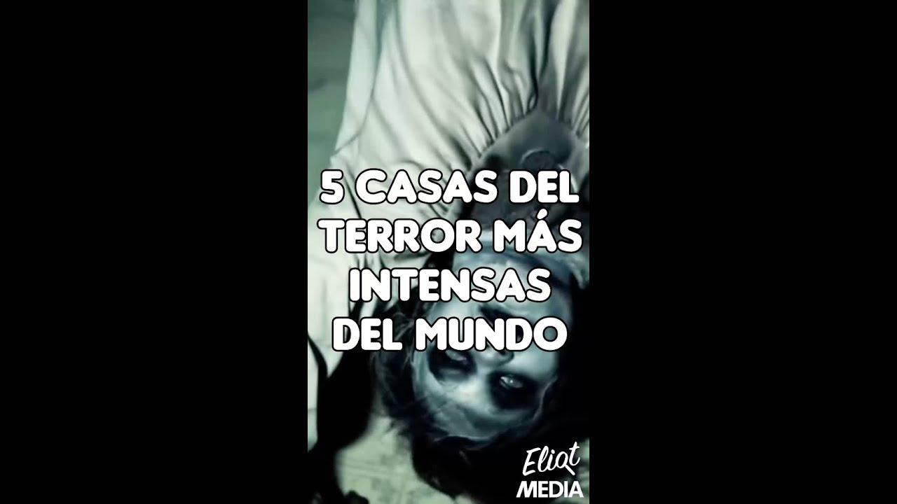 LAS 5 CASAS DE TERROR MÁS INTENSAS DE TODO EL MUNDO #Shorts
