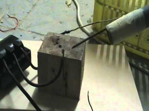 Oil Burner Ignition Transformer Obit 8kv 30ma Youtube