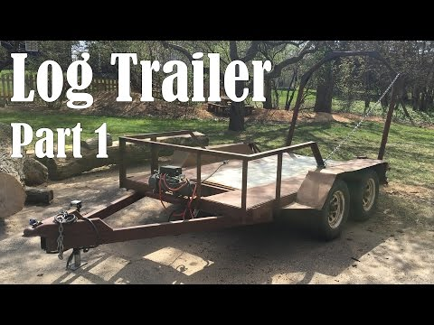 Strengthening the Trailer - Log Hauling Trailer Pt 1