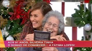 Silvéria dedica poema a Fátima Lopes