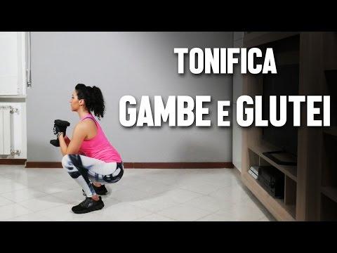 Esercizi di tonificazione per gambe e glutei - HIIT Amrap 5min