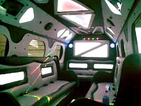 Sprinter Limo Bus Limousine Conversion On Either Sprinter