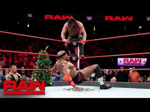 Elias vs. Bobby Lashley - Miracle on 34th Street Fight: Raw, Dec. 24, 2018
