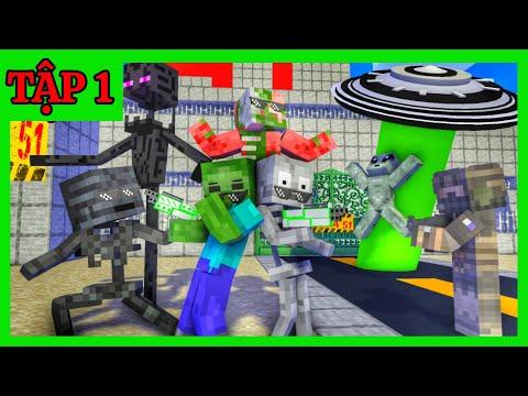 [ Lớp Học Quái Vật ] THẦY BỊ BẮT CÓC ( TẬP 1 )    Minecraft Animation