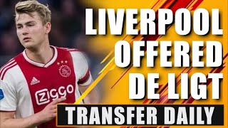 Liverpool 'close' to signing Matthijs De Ligt? Transfer Daily
