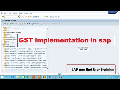 GST implementation in