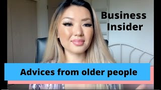 Natsune Oki Useful life advices I found on the internet from 50 years olds