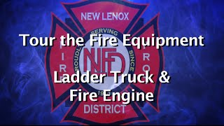 Tour the Fire Equipment - Ladder Truck and Fire Engine
