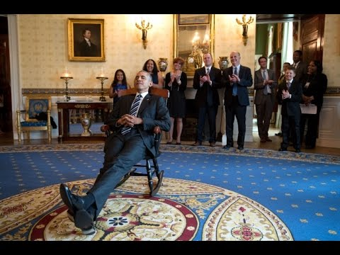 Thumbnail: UConn Huskies Visit President Obama (and Gift a Rocking Chair)