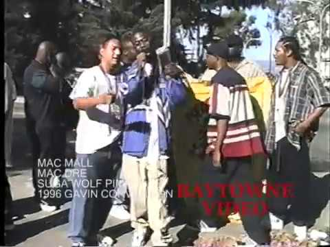 mac dre, mac mall and dubee sugawolf pimp freestyle at the Gavin Convention