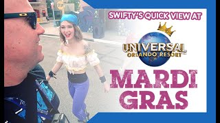 Swifty at Universal Studios • MARDI GRAS // Testing camera setup // Harry Potter + BURPing Bloopers