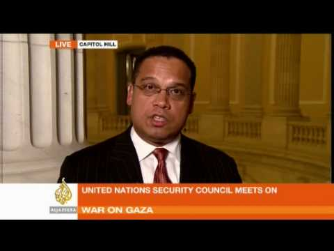 US congressman Keith Ellison on Gaza - 06 Jan 09