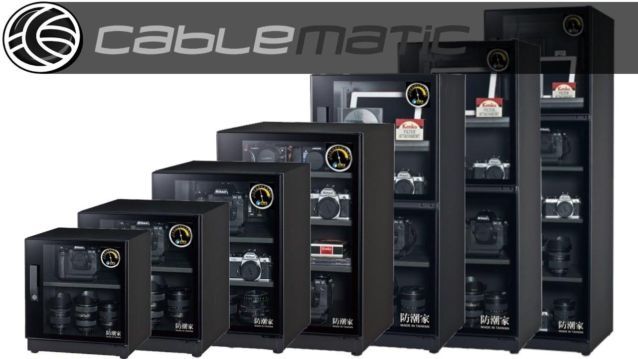 ZYD Armario deshumidificador para c/ámara de fotos y almacenamiento de equipos electr/ónicos