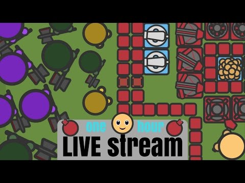 Build, Survive, Defend from Zombies | Live Stream Part #1 - zombs.io