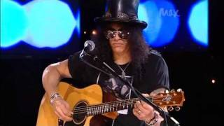 Civil War - Slash & Myles Kennedy - Rare Acoustic - MAX Sessions 2010 - Best Quality 480p