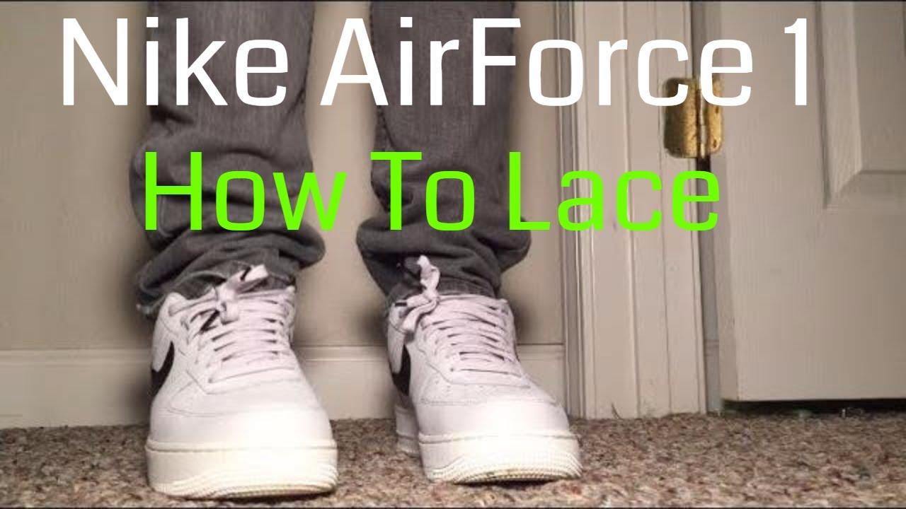 air force ones nike tie