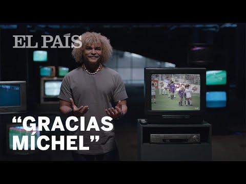 """""""Gracias Míchel"""": La campaña de Líbero con Valderrama"""