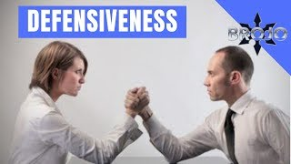 Defensiveness; The #1 mistake you make in conflicts