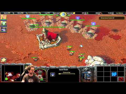 Lobos plays Warcraft III: The Frozen Throne (Part 7)