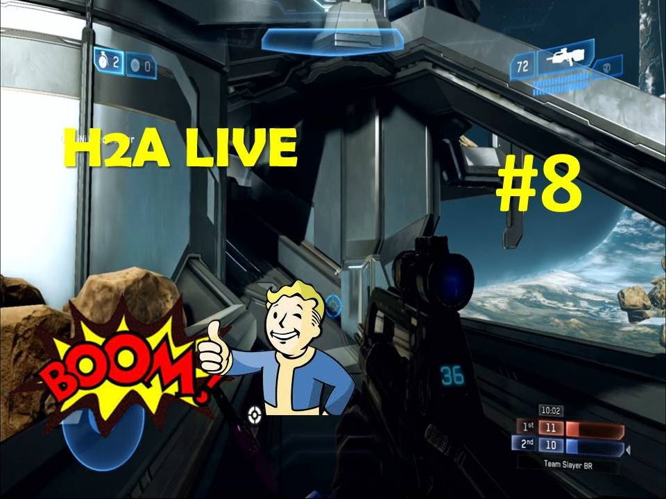 Halo MCC - Halo 2 Anniversary Multiplayer LIVE - Game 8 ...