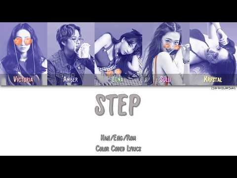 F(X) - STEP [Color Coded Han|Rom|Eng]