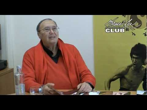 Riccardo Billi comments on Bruce Lee Manía and sends greetings to the European Bruce Lee Club.