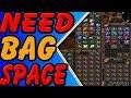 World of Warcraft Bag space