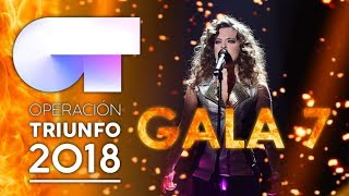 OT 2018 | Ranking de actuaciones de la GALA 7