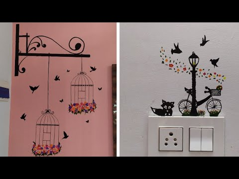 Wallpainting Easy Switchboard Painting Design Idea Simple Wall Painting Design Idea Youtube