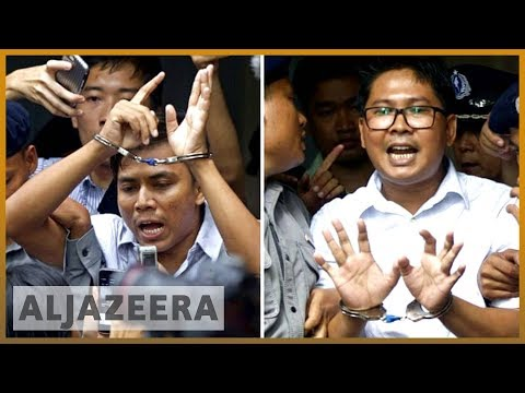 🇲🇲 Myanmar jailing of Reuters journanists condemned | Al Jazeera English