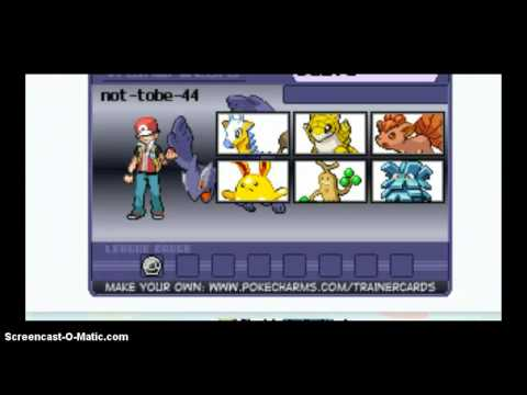 how to create own pokemon trainer