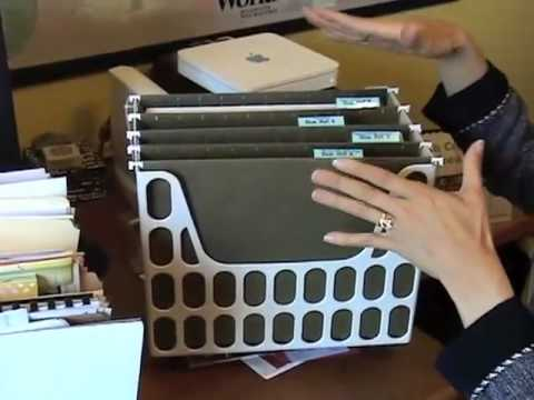 How To Get Organized Organize Papers On Your Desk For
