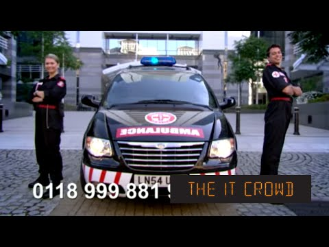 The IT Crowd - Series 1 - Episode 2: New emergency number