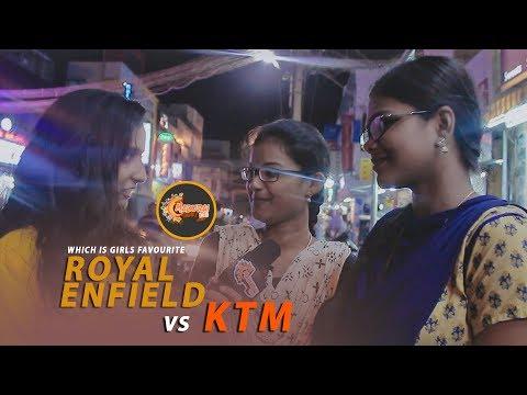 Which Bike is Girls Favorite?   RE Vs KTM   A Frank Talk Show #52   Vj Stefy   Madurai360