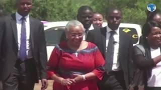First Lady Margaret Kenyatta commissions Kajuki Water Treatment Plant in Tharaka Nithi County